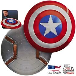 Marvel Captain America Shield 11 Perfect Abs Film And Television Props 57cm