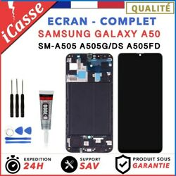 Ecran Complet Samsung Galaxy A50 - A505fn A505f A505a + Chassis + Outils + Colle