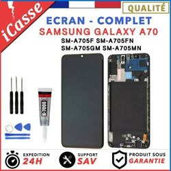 Ecran Complet Samsung Galaxy A70 Sm-a705f Sm-a705fn + Chassis + Outils + Colle