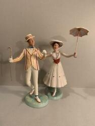 Wdcc Mary Poppins Bart Figure Pottery Rare Limited Figurine From Japan Rare