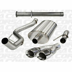 Corsa 11-13 Ford F-150 Raptor 6.2l 133in Wheelbase Polished Cat-back Exhaust
