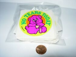 new 98 SHEETS CHILDRENS STICKERS CRAFTS NO TEARS TODAY GOOD BEHAVIOR TEDDY BEAR
