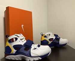 Nike Huarache Air Trainer White Purple / Yellow /red Menandrsquos Size 10 - 679083 107
