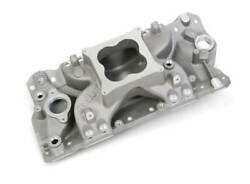 Holley Efi Single Plane Manifold Finish Satin For 1962-1986 Chevy Small Block V8