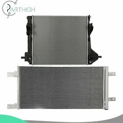 For 2011-2014 Ford F-250 Super Duty F-450 Car Rdiator And Ac Condenser Cooling Kit