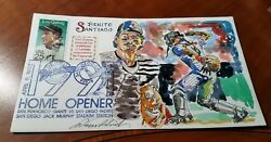 Wild Horse Hp Cachets Benito Santiago Padres Limited Watercolor Rare 27/123