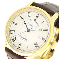 The Real Thing Orient Wristwatch Rk-au0001s Star Classic Automatic Winding White