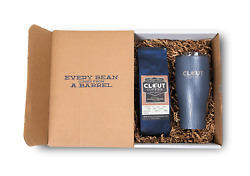 Clout Coffee Crate Bourbon Barrel Aged Coffee Gift Box 12 Ounce Light Roast 27