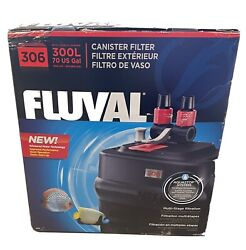 Fluval 306 A212 External Power Canister Filter Aquarium Multi-stage Filtration