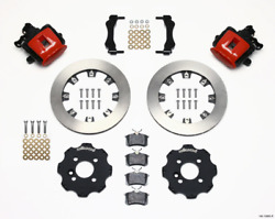 Wilwood Combination Parking Brake Rear Kit 11.75in Red Mini Cooper Requires 17i