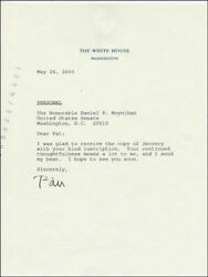 William J. Bill Clinton - Typed Letter Signed 05/26/2000