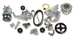Holley Universal Ls/lt Complete Accessory Drive Kit Include Sd508 A/c Compressor