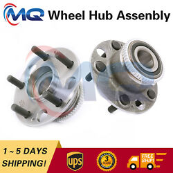 2 Rear Wheel Hub Bearing And Assembly For 2002-2004 Acura Rl 3.5l 5 Lugs 512343