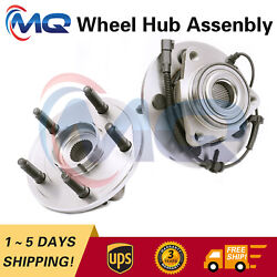 2front Wheel Hub Bearing Assembly For 2006 2007 2008 Dodge Ram 1500 Wabs 515113