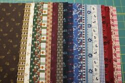 42 Reproduction 5 Squares Charm Pack Quilt Fabric By Judie Rothermel/marcus