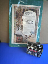 1979 Vintage Towleand039s Log Cabin Syrup Bank And Vintage Advertising Page