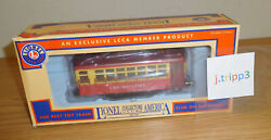 Lionel 6-58045 Lcca Chicago Lines Convention Trolley Car O Gauge Train Motorized