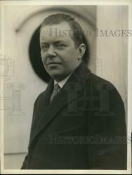 1929 Press Photo Ps Patterson Pres Of National Cash Register Co
