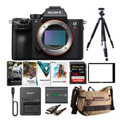 Sony Alpha A7r Iii Mirrorless Camera Body Only With 128gb Sd Card Bundle
