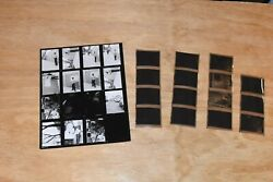 Medium Format Bandw Contact Sheets And Negatives Male Model By Marc Burgess Photo