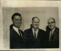1962 Press Photo Newly Elected Officers Of Texas Baptist Executive Board Dallas
