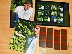 Fuji Negatives And Contact Sheet And Prints. Male Model Shot By Marc Burgess Photo