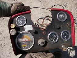 Farmall Ih 560 Diesel Tractor Dash Panel W/ Tachometer And Gauges And Wire Harness