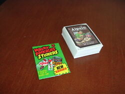 1980 Topps Wacky Packages 4th Series Stickers Complete Set Of 66 Sharp Nm