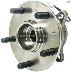 For Suzuki Sx4 Sx4 Crossover Rear Set Of 2 Wheel Bearing And Hub Assembly Mpa