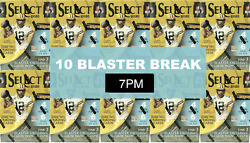 Huge 10 Select Blaster Break Monday 7pm Pst