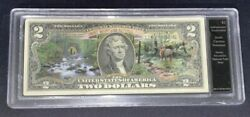 Smoky Mountains National Park 2 Note Authenticated Uncirculated 2013