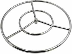 18-inch Round Fire Pit Burner Ring For Natural Gas/propane Fire Pit Big Sale