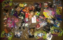 Large Lot Of Misc.toys Keychains Blind Draw Collectables Fast Food Toys+more