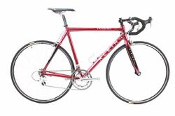 Used 2003 Klein Q Pro Carbon Road Bike 57cm Shimano Dura-ace 2x9 Speed Red