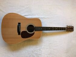 Martin Custom D Sitka Spruce Top And East Indian Rosewood Acoustic Guitarandnbsp