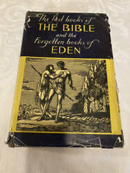 1926 The Lost Books Of The Bible And The Forgotten Books Of Eden 1st Hcdj
