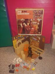 Vintage 1970s 1975 Jody And Her General Store Playset In Box,ideal No. 1305-2
