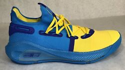 Under Armour Curry 6 Pe Family Business All Star Blue 3020612-310 Men Size 13.5