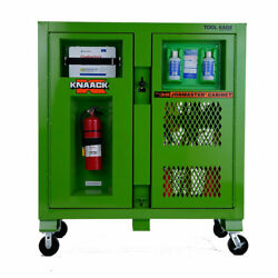 Knaack 139-sk Safety Kage And Ppe Storage Cabinet 30 X 60 X 30 Safety Green