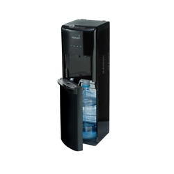 Primo Water Dispenser Cooler 5 Gal. Bottom Load Stainless Steel Hot-cold Tans