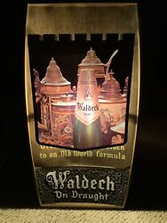 Vintage Beer Sign Hamms Lighted Waldeck Castle Theme 1980andrsquos Light