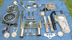 Genuine Stock Harley Davidson Parts Lot Dyna Fxd Softail Heritage Touring Fatboy