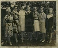 1972 Press Photo Mrs. William D. Chambers And New Orleans Garden Society Officers