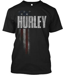 Hurley Family American Flag Classic T Shirt 100% Cotton By One Nation Design
