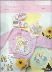 Precious Moments Sisters 518 Sew-free Fabric Applique Motifs Vintage Oop 1993