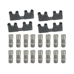 Ls7 Ls2 16pcs Performance Hydraulic Roller Lifters And 4 Guides 12499225 Hl124