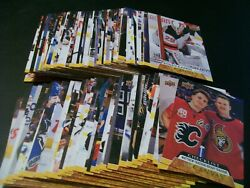 2020/21 Upper Deck Series 2 Base Set Of Canvas Cards 121 To 210 - Mcdavid