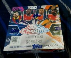2020-21 Topps Chrome Match Attax Ucl Uefa Soccer Case Usseller 12 Boxes Hot