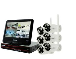 Dvr Security System10.1 Display Night Vision And Sound 2way Talk