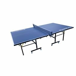 Indoor And Outdoor Folding Sliding Table Tennis Table Top Ping Pong Set Net Games